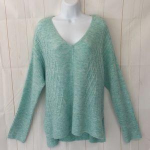 Soft Oversized Slouch V-Neck Sweater